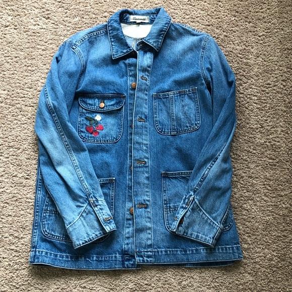 Madewell Jackets & Blazers - Madewell Chore Jacket Strawberry